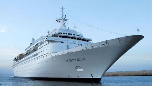 Cruise ship Boudicca - Fred Olsen Cruise Lines