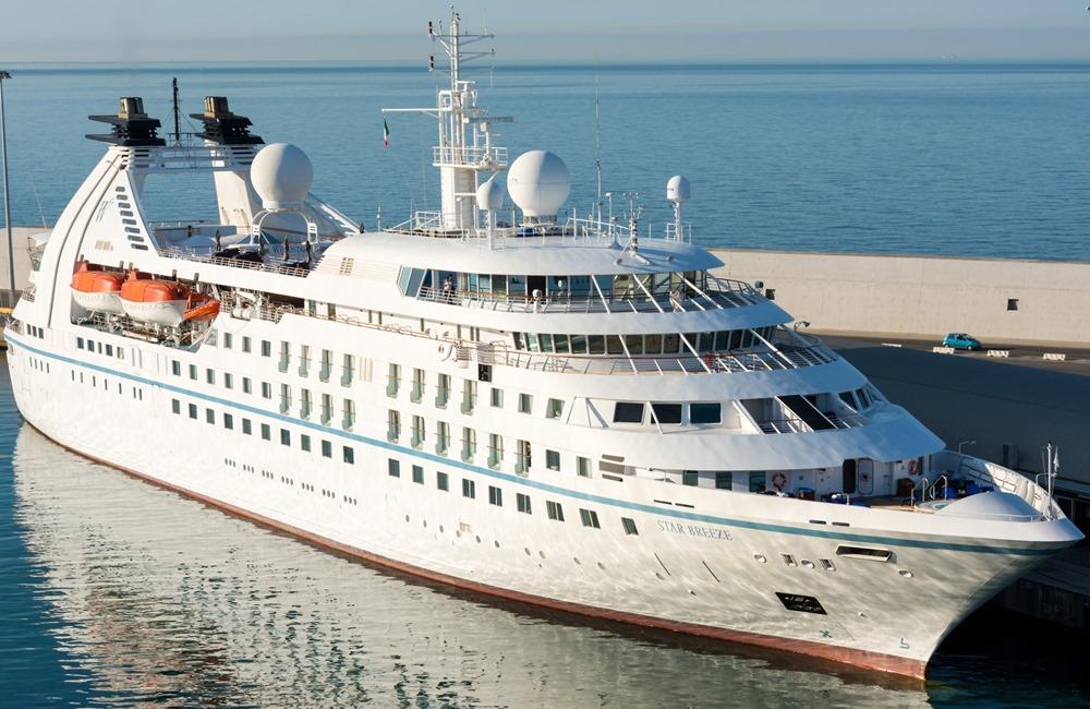 Cruise ship Star BREEZE - Windstar Cruises
