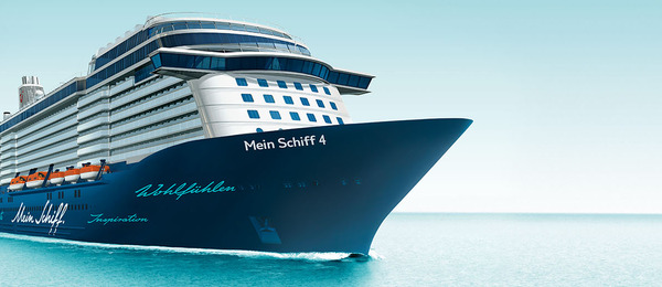 Cruise ship Mein Schiff 4 - TUI Cruises