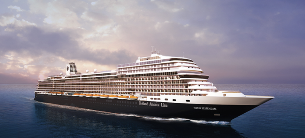 Cruise ship Nieuw Statendam - Holland America Line