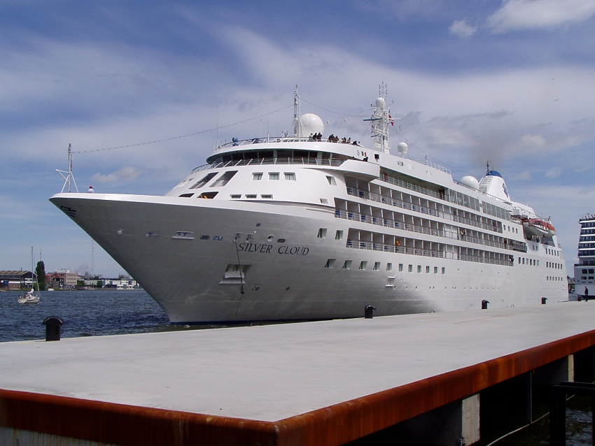 Cruise ship Silver Cloud - Silversea Cruises