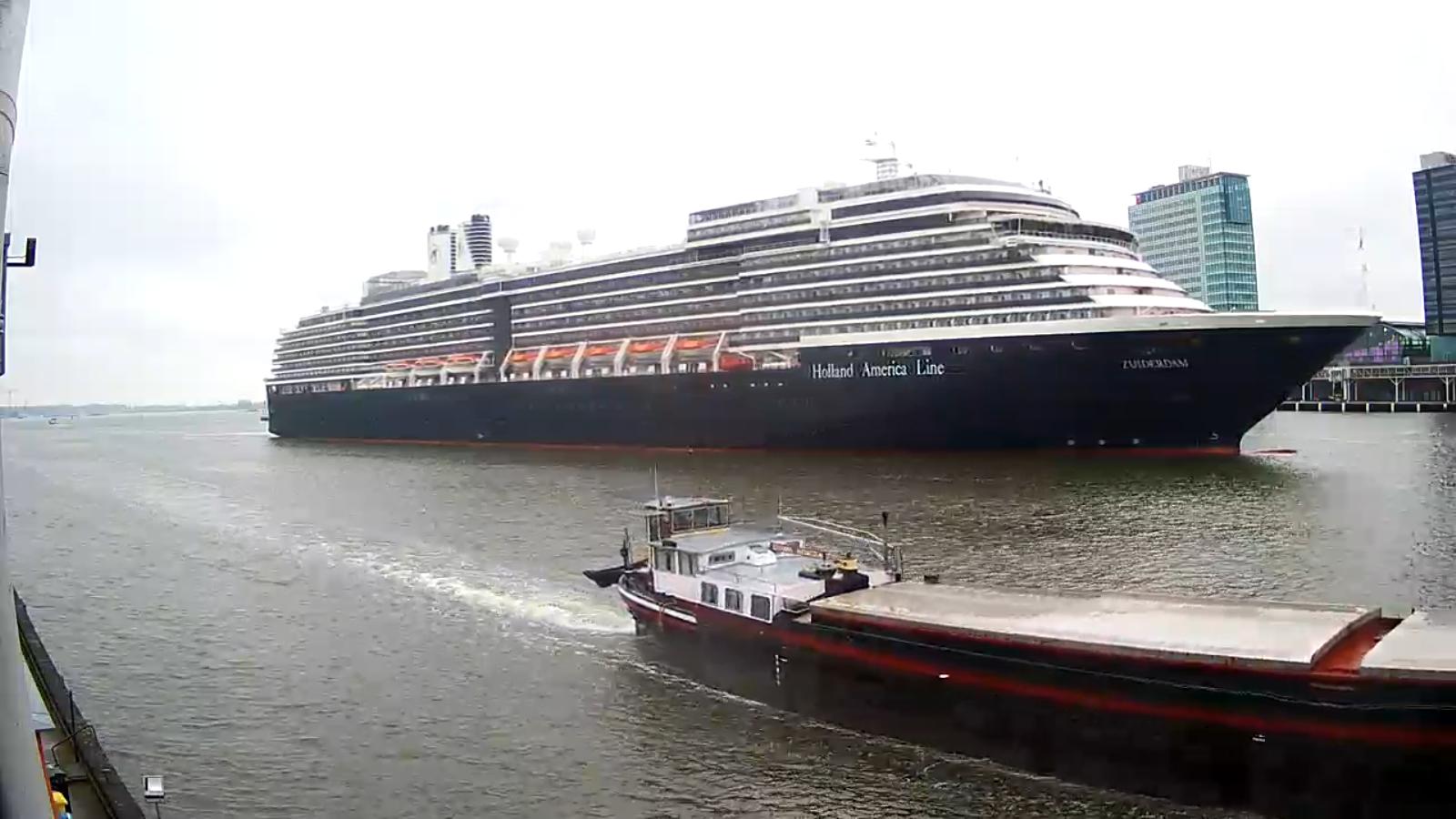 Cruise ship Zuiderdam - Holland America Line