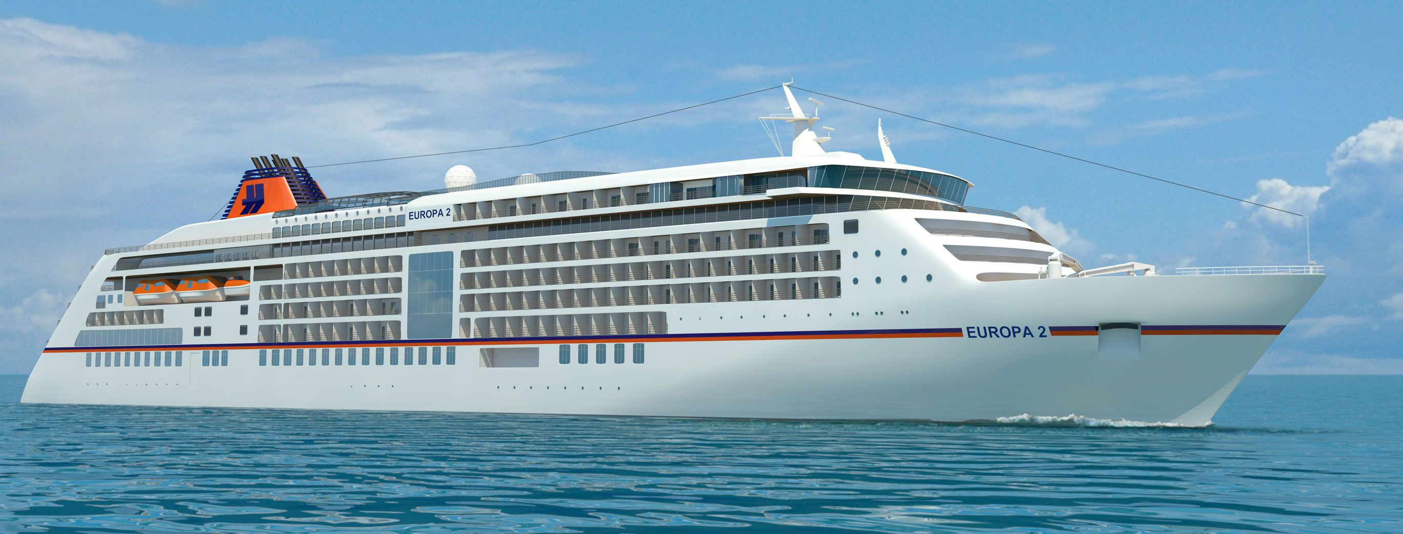 Cruise ship Europa 2 - Hapag-Lloyd Cruises