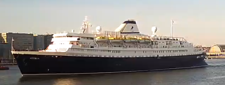 Cruise ship Astoria - Transocean Tours