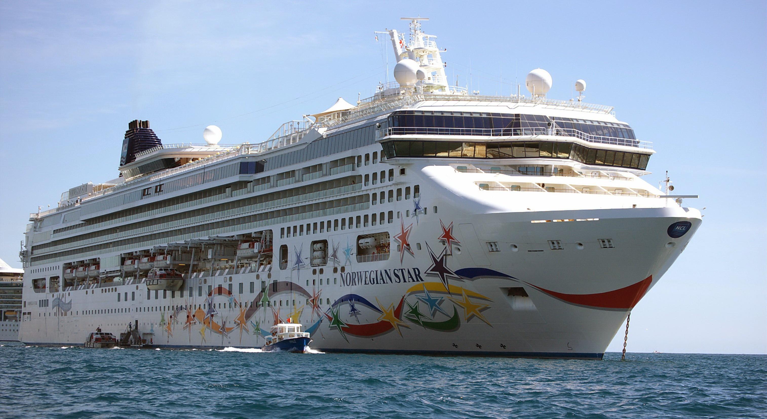 Cruise ship Norwegian Star - Norwegian Cruise Line